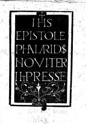 Epistole noviter impresse