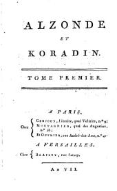 Alzonde Et Koradin: Volume1