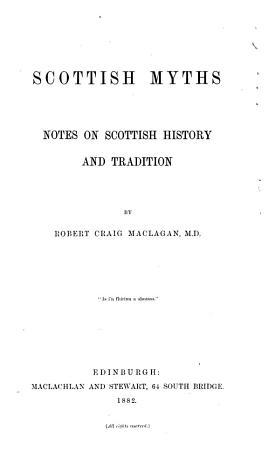 Scottish Myths PDF