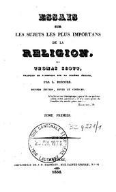 Essais sur les sujets les plus importans de la religion: Volume1