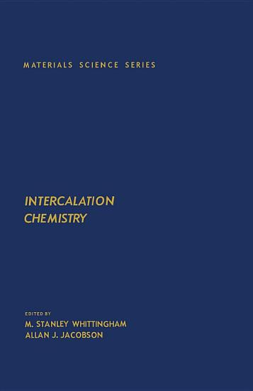 Intercalation Chemistry PDF