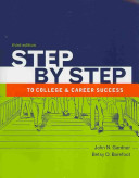 Step by Step to College and Career Success   the Bedford St  Martin s Planner PDF