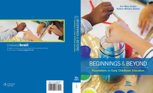 Beginnings   Beyond  Foundations in Early Childhood Education Book