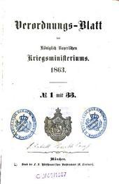 Verordnungs-Blatt: 1863
