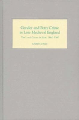 Gender and Petty Crime in Late Medieval England PDF