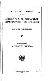 Annual Report of the United States Employee's Compensation Commission