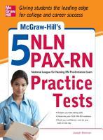 McGraw Hill s 5 NLN PAX RN Practice Tests PDF
