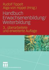 Handbuch Erwachsenenbildung/Weiterbildung: Ausgabe 3