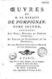 Oeuvres complètes de M. le marquis Jean-Jacques Lefranc de Pompignan