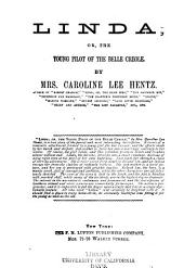 Linda: Or, The Young Pilot of Belle Creole