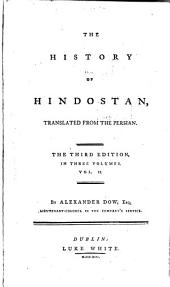 The History of Hindostan: Volume 2
