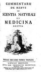 Commentarii de rebus in scientia naturali et medicina gestis  17 PDF