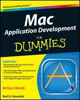 Mac Application Development For Dummies PDF