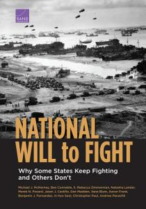 National Will to Fight PDF