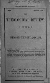 The Theological Review: Volume 4