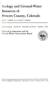 Geological Survey Water-supply Paper: Issue 1772