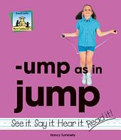 ump as in jump