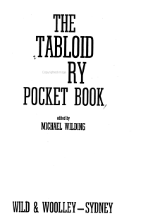 The Tabloid Story Pocket Book PDF