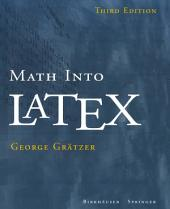Math into LaTeX: Edition 3