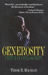 Generosity: Virtue in Civil Society