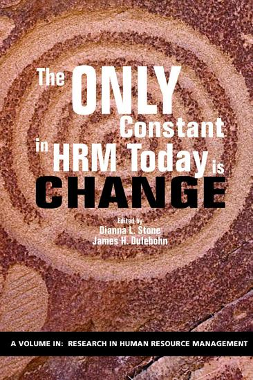 The Only Constant in HRM Today is Change PDF