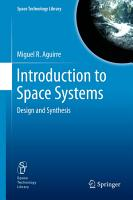 Introduction to Space Systems PDF