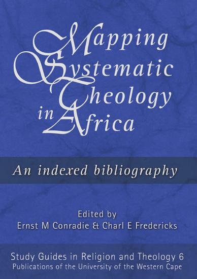 Mapping Systematic Theology in Africa PDF