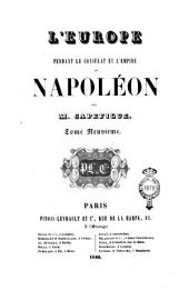 L'Europe pendant le Consulat et l'Empire de Napoleon: Volume9