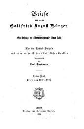 bd. Briefe von 1767-1776