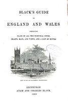 Black s Guide to England and Wales PDF