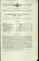 The Jerusalem Artichoke as a Crop Plant PDF