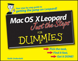 Mac OS X Leopard Just the Steps For Dummies PDF