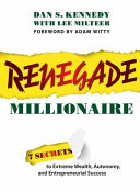 Renegade Millionaire PDF