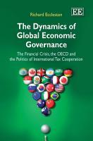 The Dynamics of Global Economic Governance PDF