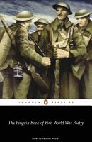 The Penguin Book of First World War Poetry PDF