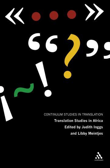 Translation Studies in Africa PDF