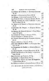 Annales du Musée et de l'École moderne des beaux-arts: Seconde Collection: Partie ancienne, t. 1-4
