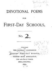 Devotional Poems For First Day Schools Book PDF