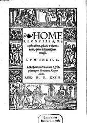 Homeri Odyssea