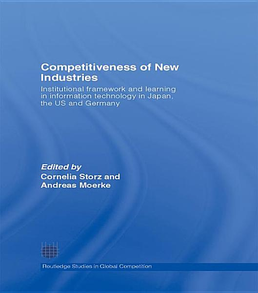 Download Competitiveness of New Industries Book