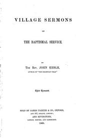 Village Sermons on the Baptismal Service