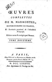 Oeuvres Complettes De M. Marmontel