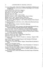 Edinburgh Medical Journal: Volume 6, Part 1
