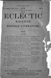 The Eclectic Magazine: Volume 62