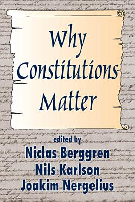 Why Constitutions Matter PDF
