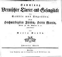 Sammlung vermischter Clavierstuecke fuer ge  bte und unge  bte Spieler PDF