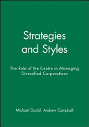 Strategies and Styles Book