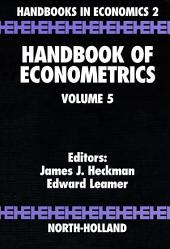 Handbook of Econometrics: Volume 5