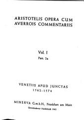Aristotelis opera cum Averrois commentariis: Volume 1