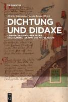 Dichtung und Didaxe PDF
